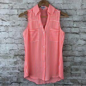 Express the portofino shirt tank top neon